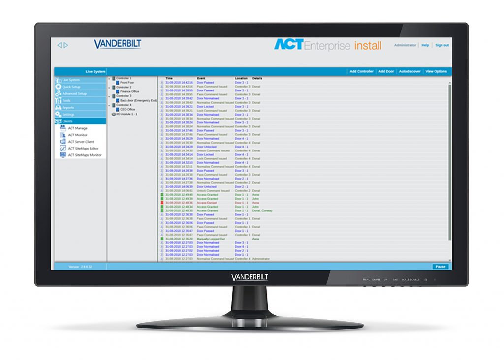 ACT Software Image